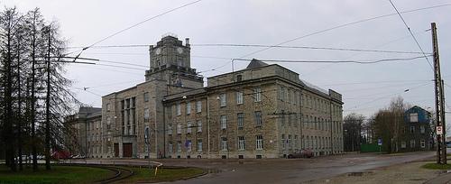 Eesti Mereakadeemia peahoone Koplis