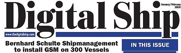 Digital Ship - elektrooniline uudisleht, jaanuar 2009