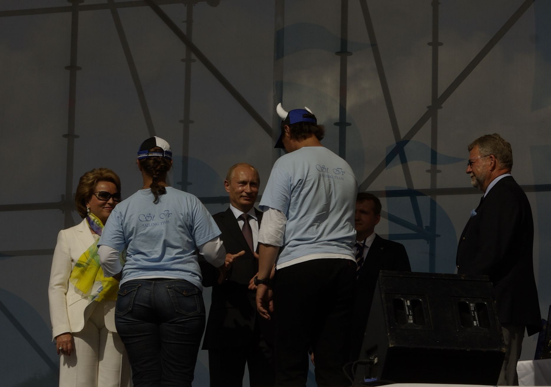 putin, tall ships races, st. iv, st. peterburg, sailing