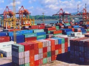 Konteinerid Fuzhou sadamas