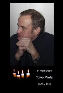 In Memoriam Toivo Prela