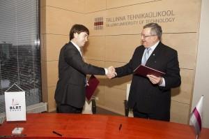 BLRT sõlmis koostöölepingu TTÜ-ga