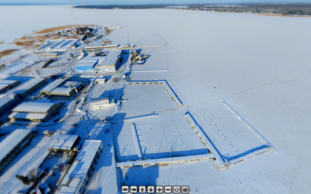 Haapsalu sadamad Coptercam.ee kaamera silme läbi