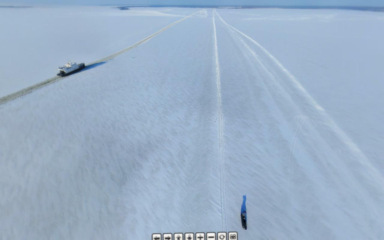 Vormsi jäätee Coptercam.ee kaamera läbi