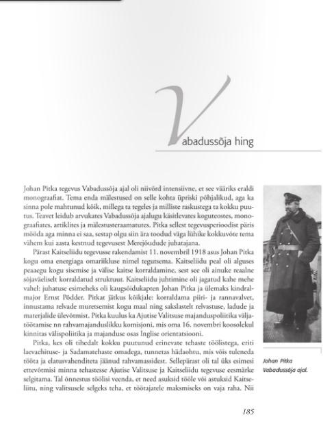 Ajaloolise raamatu 185. lehekülg