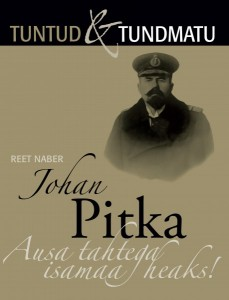 Reet Naberi raamatu esikaas Johan Pitkast