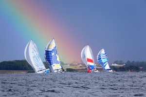 Start Swan60 under the rainbow@Mitja Meyer - Kopie