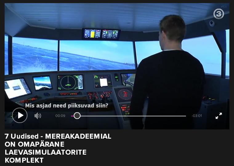 TV3 Play saatelõik mereakadeemia laevade simulaatorist