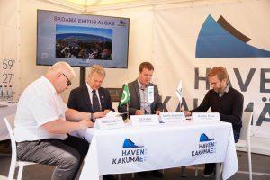 vasakult Neeme Kaarma, Ott Kallas, Marek Jürgenson, Sander Kaus. Foto autor: Oleg Harchenko